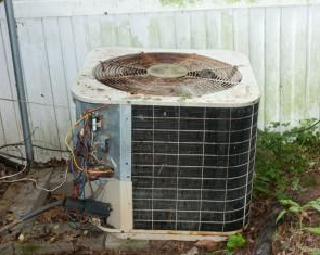 Neglected Air Conditioner